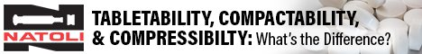 Tabletability, Compactability, and Compressibilty: What's the Difference?